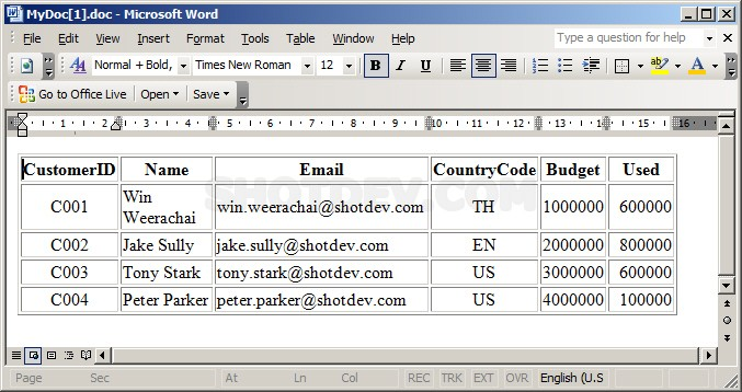 "ASP & Word Response.ContentType = ""application/vnd.ms-word"""