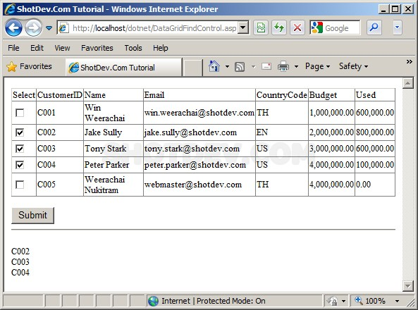 ASP.NET(vb.net) & DataGrid - FindControl