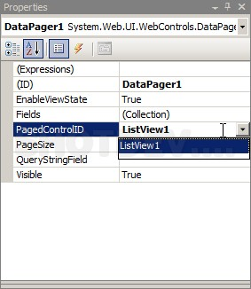 ASP NET(vb net) & DataPager - asp:DataPager | ShotDev Com
