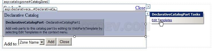 ASP.NET(vb.net) & DeclarativeCatalogPart - asp:DeclarativeCatalogPart