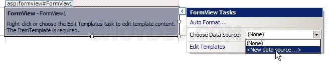 ASP.NET(vb.net) & FormView Control