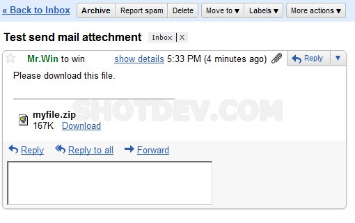 PHP Send Mail (Upload Form & Attachment File)